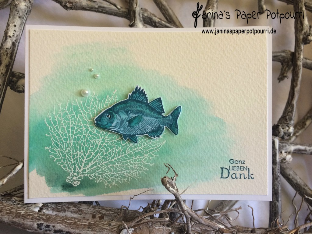 jpp - Under the sea Aquarellkarte 1