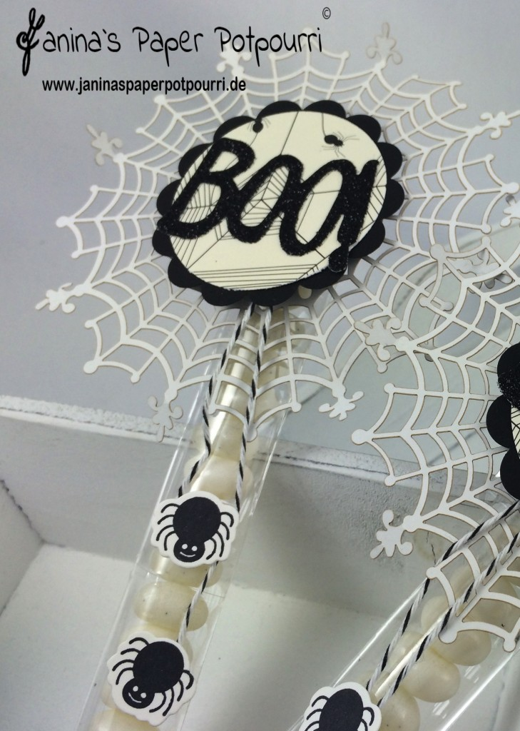 jpp - Black & White Halloween Candy Sticks 1