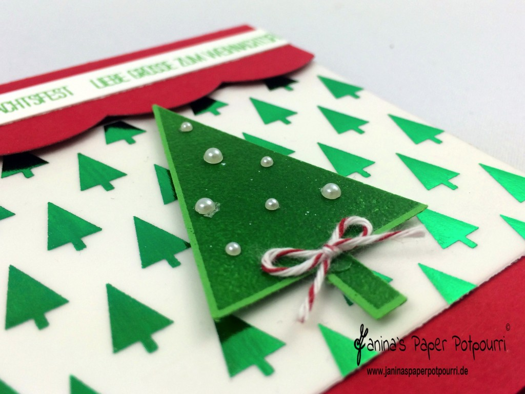 jpp - red and green Christmas Card 1