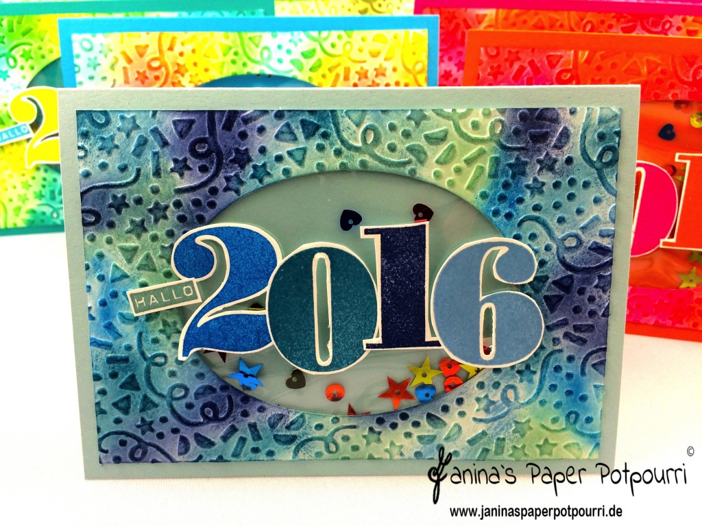 jpp - New Years Confetti Shaker Card 3