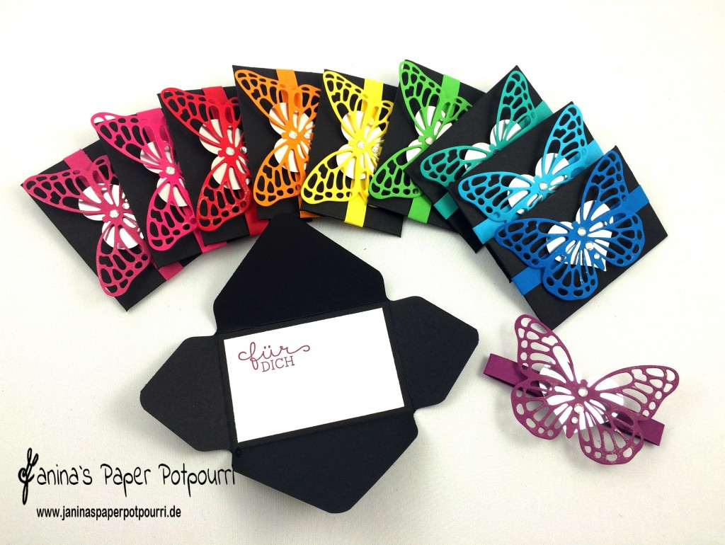 Giftcard Holder Butterfly