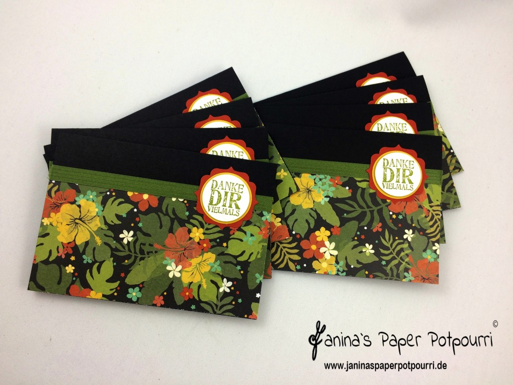 jpp - Botancial Thank You Card