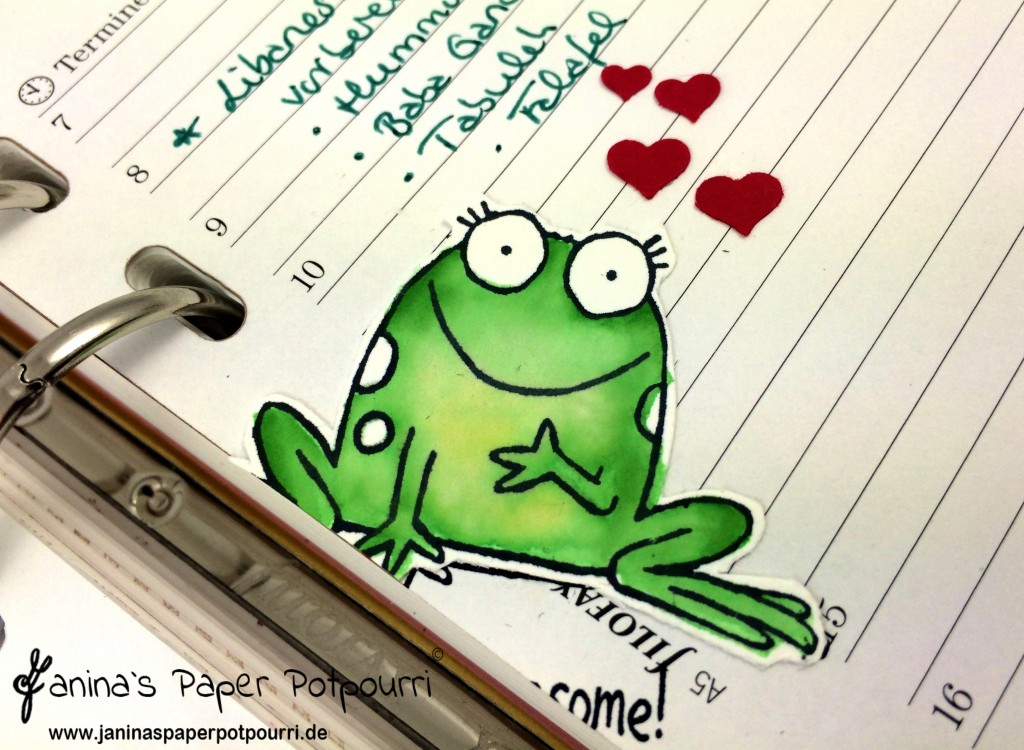 jpp - filofax kiss the frog 2