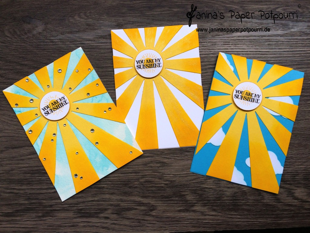 jpp - You are my Sunshine Cards
