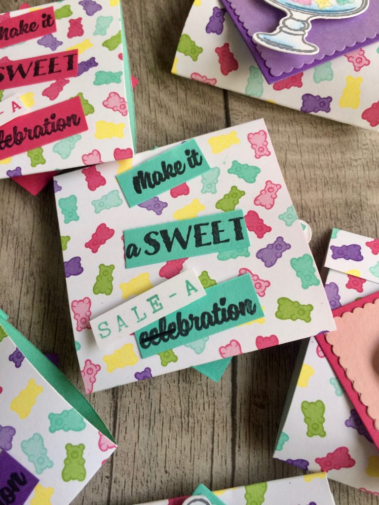 lustiger Spruch zur Sale a Bration auf den Matchbook Goodies